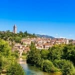 Village d'Olargues، Hérault، Occitanie، France