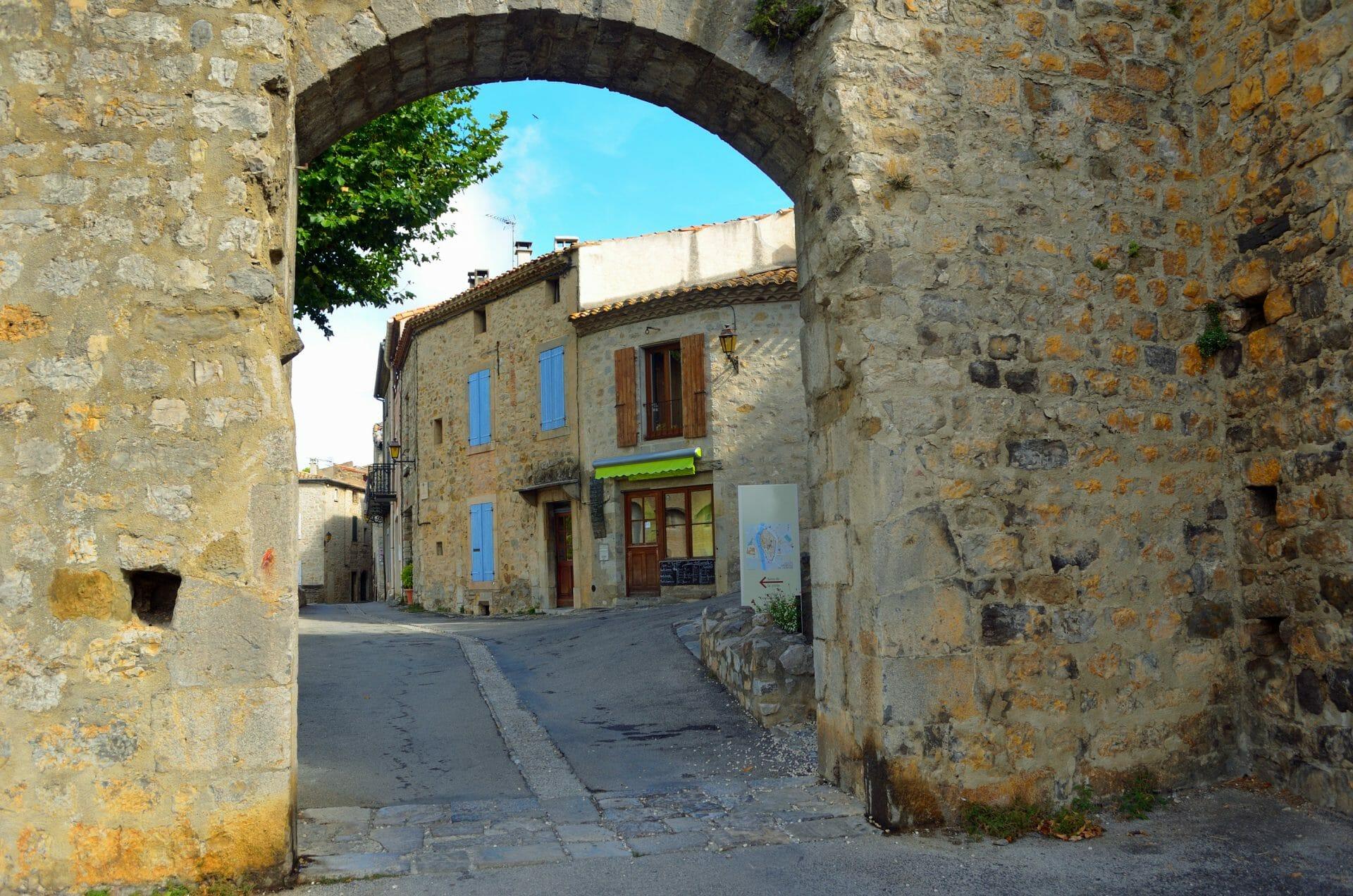 Lagrasse, Aude, Occitanie, Frankreich.