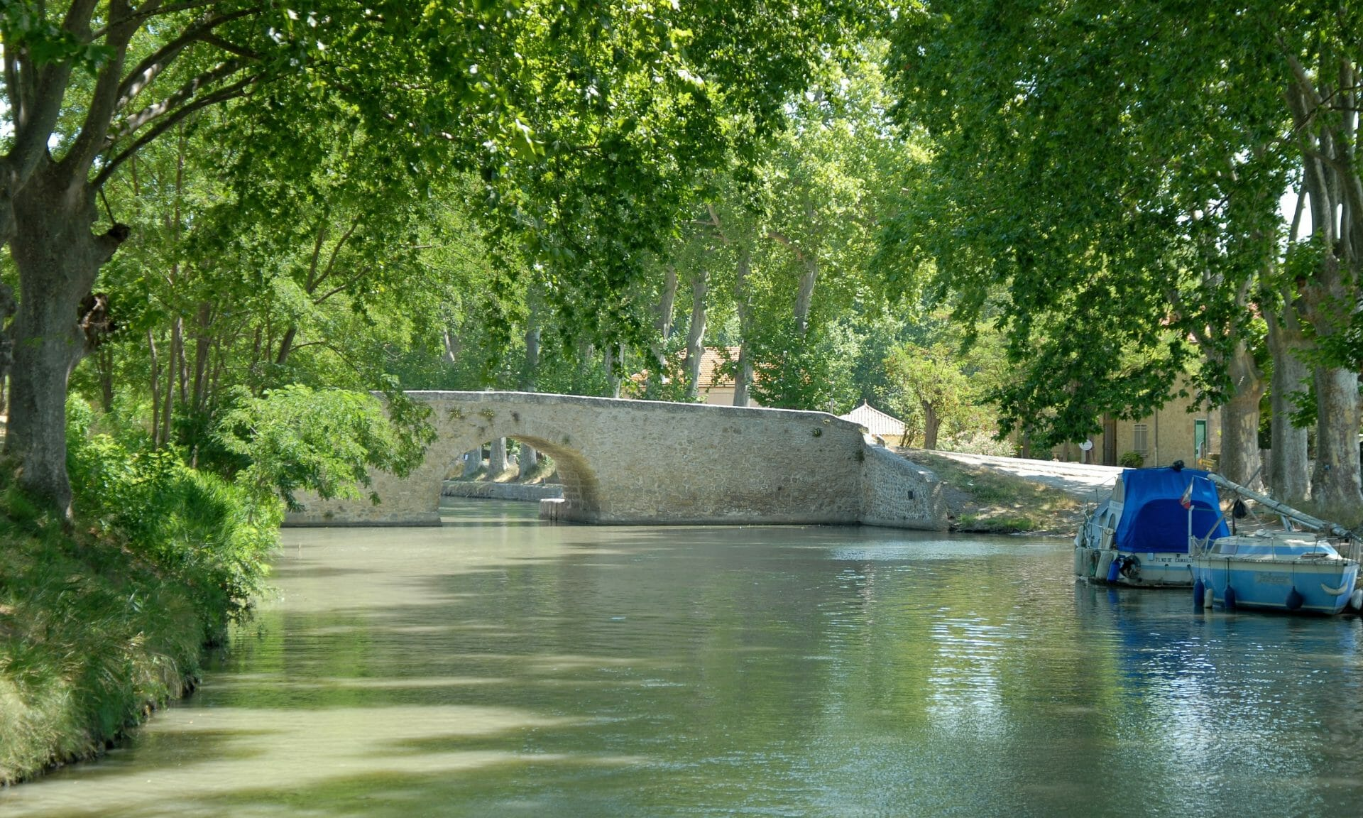 Capestang Canal du Midi DSC w