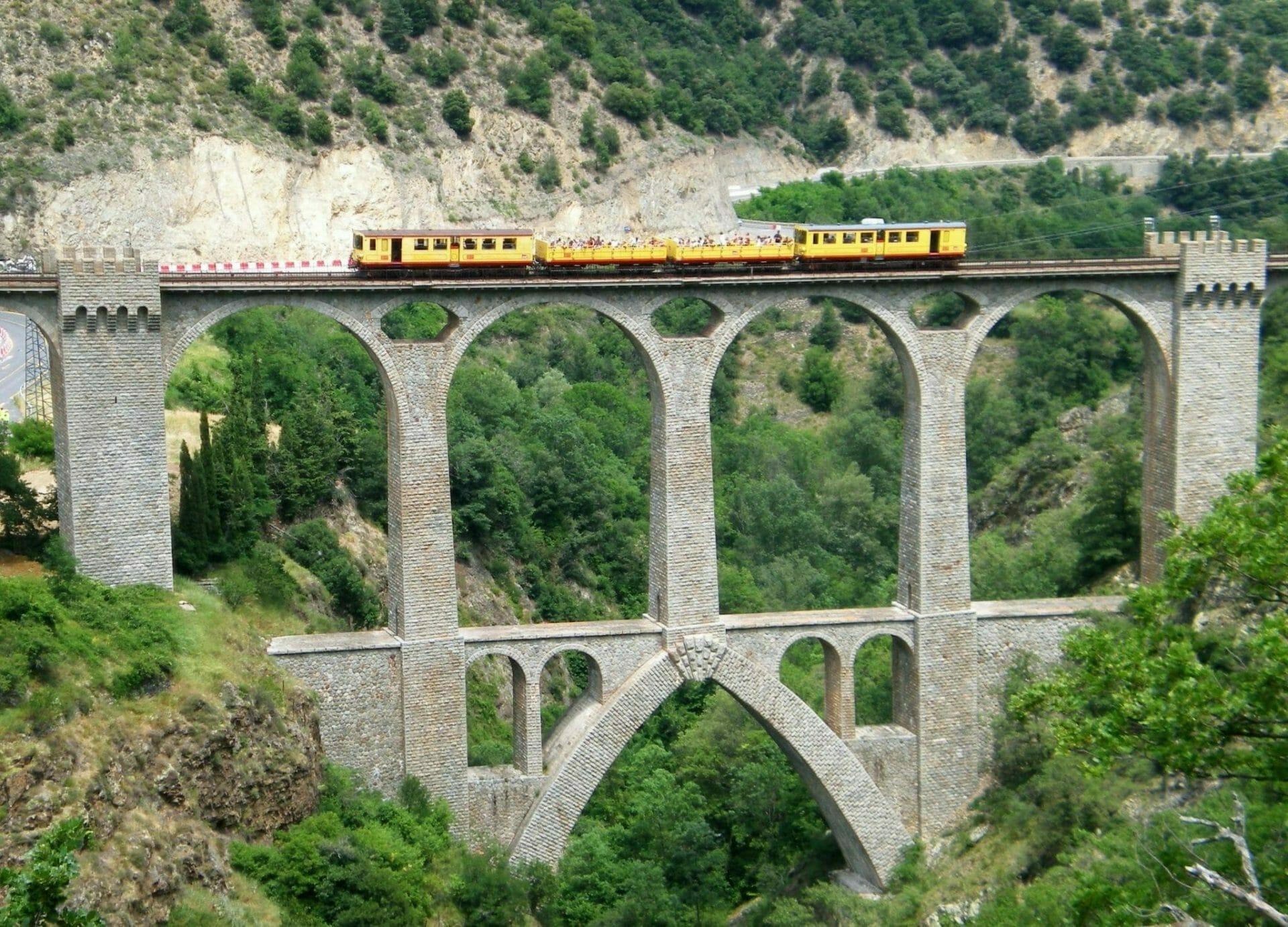 Tren Jaune